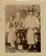 COREA KOREA COREE EAST ASIA  12 * 9.5 CM Fonds Victor FORBIN 1864-1947 - Célébrités