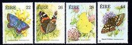 Ireland 1985 Butterflies Set Of 4, MNH, SG 609/12 - 1949-... République D'Irlande