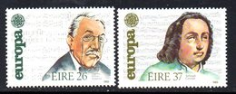 Ireland 1985 Europa Music Composers Set Of 2, MNH, SG 613/4 - 1949-... République D'Irlande