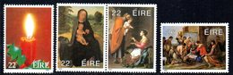 Ireland 1985 Christmas Set Of 4, MNH, SG 626/9 - 1949-... République D'Irlande