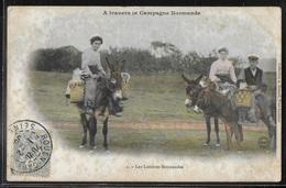 CPA 14 - A Travers La Campagne Normande, Les Laitières Normandes - I - France