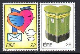 Ireland 1986 Greetings Stamps Set Of 2, MNH, SG 630/1 - 1949-... République D'Irlande