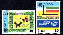 Ireland 1986 Europa Set Of 2, MNH, SG 635/6 - 1949-... République D'Irlande
