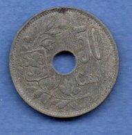 Belgique -  50 Centimes 1918 - Km # 83 -  état TB - 1909-1934: Albert I