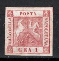 Napoli 1858 Sass.4 (*)/MNG VF/F - Napoli