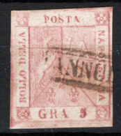 Napoli 1858 Sass.9 O/Used VF/F - Naples