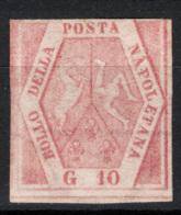 Napoli 1858 Sass.11 (*)/MNG F - Naples