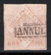 Napoli 1858 Sass.13 O/Used VF/F - Naples