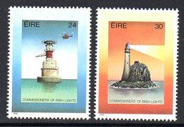 Ireland 1986 Lighthouses Set Of 2, MNH, SG 644/5 - 1949-... République D'Irlande
