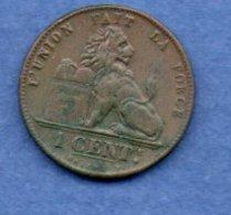 Belgique -  1 Centime 1902  - -  état TTB - 1865-1909: Leopoldo II