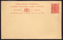 CAYMAN ISLANDS  Unused Stationery Card - Cayman Islands