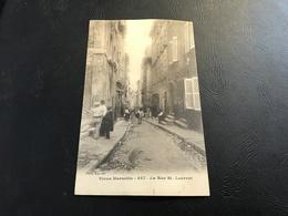 Vieux MARSEILLE - 447 - La Rue St. Laurent - Vieux Port, Saint Victor, Le Panier
