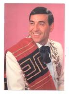 LUIS MARIANO - Le Chanteur De Mexico - Photo Grandeur Carte Postale (van) - Künstler