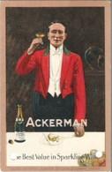 Publicité ACKERMAN - Oblitération De 1931 - 2 Perforations Dans La Bas - Publicité