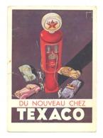 """Carte Postale Publicitaire """" TEXACO """" 1936 - Essence, Carburant,...- Voir Verso - Etat MOYEN, Voir Scans (van) - Publicité"""