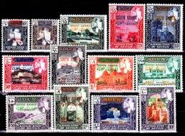 Arabie Du Sud- Kathiri ( Michel ) 55 / 67 Série Courante Avec Nouvelles Valeurs - Briefmarken