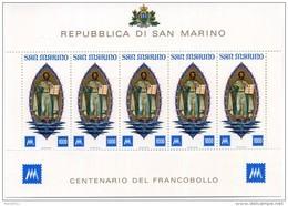 1977 SAN MARINO BF27 ** - Blocchi & Foglietti