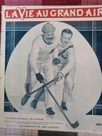 1911 HOCKEY SUR GLACE - TOURNOI DE CHAMONIX - CANADA = ALLEMAGNE - Journaux - Quotidiens