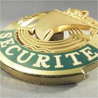 ~ INSIGNE BADGE SECURITE VILLE PARIS - Capitale Agent Gardien Vigile Pin's - Militari