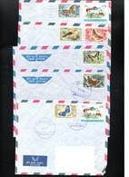 LIBAN Aerién - 1969-1970  Butterfly Papillon Animaux Farm Animals  - Poste Aérienne - Lot De 5 Enveloppes - Libanon