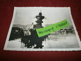 Photographie > Photos > Photos - Originales > Bateaux Le Sabordage De La Fotte A Toulon Algerie 27/11/42 - Boats