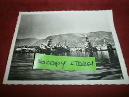 Photographie > Photos > Photos - Originales > Bateaux Le Sabordage De La Fotte A Mers El-kebir Commandant Teste - Boten