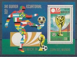 1974. Equatorial Guinea - World Cup Munich - Coppa Del Mondo