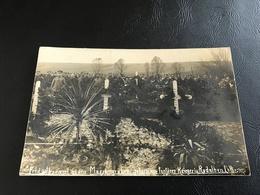 Feld Gottes Dienst An Den Massengrädbern Gefallener Tapferer Krieger In RODALBEN. Lothr. (Honneur Soldats Allemand) 1914 - War 1914-18