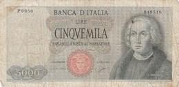 5000 LIRE 1964 - Unclassified