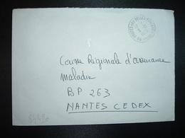 LETTRE OBL.5-10 1973 89 DRUYES-LES-BELLES-FONTAINES YONNE - Marcophilie (Lettres)