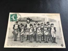 COGNAC Fete Des Reines De Mi Careme (6 Mars 1910) 1 - Les Petits Tapins - 1910 Timbrée - Cognac