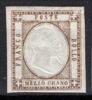 Province Napoletane 1861 Sass.18 */MH VF/F - Naples