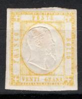 Province Napoletane 1861 Sass.23 */MH VF/F - Naples