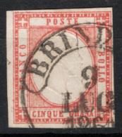 Province Napoletane 1861 Sass.21 O/Used VF/F - Napoli
