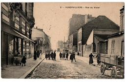 AUBERVILLIERS RUE DU VIVIER COMMERCE TRES ANIMEE - Aubervilliers