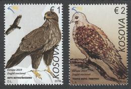 Kosovo 2019 Europa CEPT National Birds Fauna, Set MNH - Kosovo