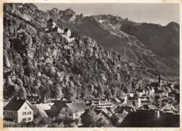 Vaduz Mit Den Rhatikonbergen 1958 - Liechtenstein