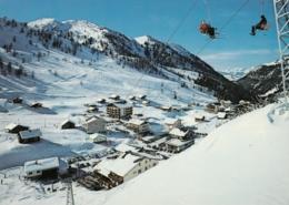 Malbun - Doppel Sesselbahn Sareis , Ski Lift 1977 - Liechtenstein