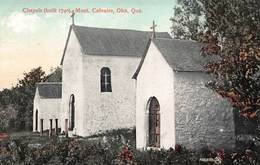 OKA QUEBEC CANADA~CHAPELS BUILT IN 1740-MONT. CALVAIRE TRAPPISTS POSTCARD 40638 - Sonstige