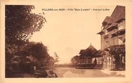 """VILLERS-sur-MER : Villa """"bois Lurette"""" Vue Sur La Mer - Tres Bon Etat - Villers Sur Mer"""