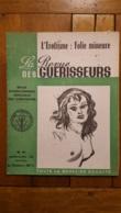 LA REVUE DES GUERISSEURS 04/1952  N°15 L'EROTISME FOLIE MINEURE TOUTE LA MEDECINE OCCULTE 16 PAGES - Esoterismo