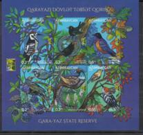 Azerbaijan MNH** 2018 RCC. Nature Reserve Garayaz Mi 1419-24 Bl.217 - Azerbaïjan
