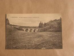 HERBEUMONT SUR SEMOIS Les Deux Viaducs Et Le Pont Du Chemin De Fer  Province Luxembourg  Belgique Carte Postale - Herbeumont