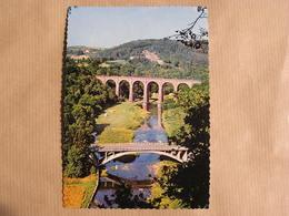 HERBEUMONT SUR SEMOIS Viaduc Pont Province Luxembourg  Belgique Carte Postale - Herbeumont