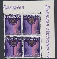 Luxemburg 1984 European Elections 1v Bl Of 4  (corner)  ** Mnh (42735B) - Luxemburg