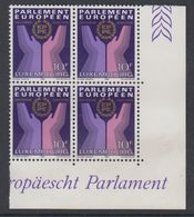 Luxemburg 1984 European Elections 1v Bl Of 4  (corner)  ** Mnh (42735C) - Luxemburg