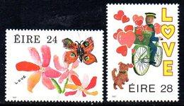 Ireland 1987 Greetings Stamps Set Of 2, MNH, SG 656/7 - 1949-... République D'Irlande