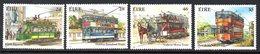 Ireland 1987 Trams Set Of 4, MNH, SG 658/61 - 1949-... République D'Irlande