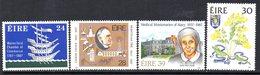 Ireland 1987 Anniversaries Set Of 4, MNH, SG 663/6 - 1949-... République D'Irlande