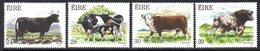 Ireland 1987 Cattle Set Of 4, MNH, SG 669/72 - 1949-... République D'Irlande